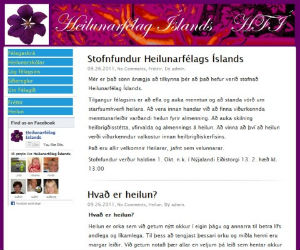 Thumbnail image for Heilunarflag slands &#8211; nr vefur